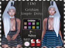 {TN} Grisham Jumper Dress v1.Blue // Group GIFT// {Add Me}