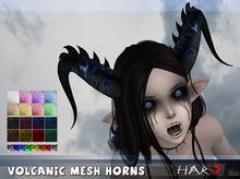 HARO Unpacker HUD (wear me) : Volcanic Horns