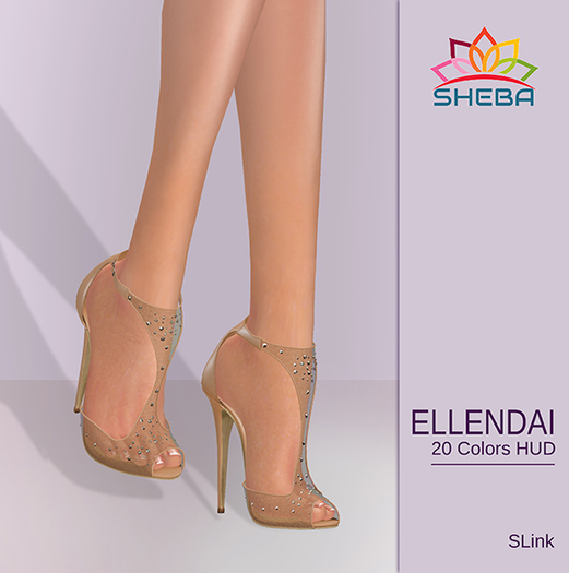[Sheba] Ellendae heels (Tex Changer Hud *Slink High)