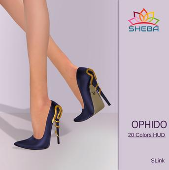 [Sheba] Ophido Heels (Tex Changer Hud *Slink High)