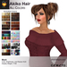 A&A Akiko Hair All Colors Pack. Womens mesh pigtails hairstyle