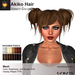 A&A Akiko Hair Variety Colors Pack. Womens mesh pigtails hairstyle