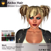A&A Akiko Hair Spooky Colors Pack. Womens mesh pigtails hairstyle