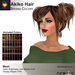 A&A Akiko Hair Brown Colors Pack. Womens mesh pigtails hairstyle