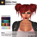 A&A Akiko Hair Rainbow Colors Pack. Womens mesh pigtails hairstyle