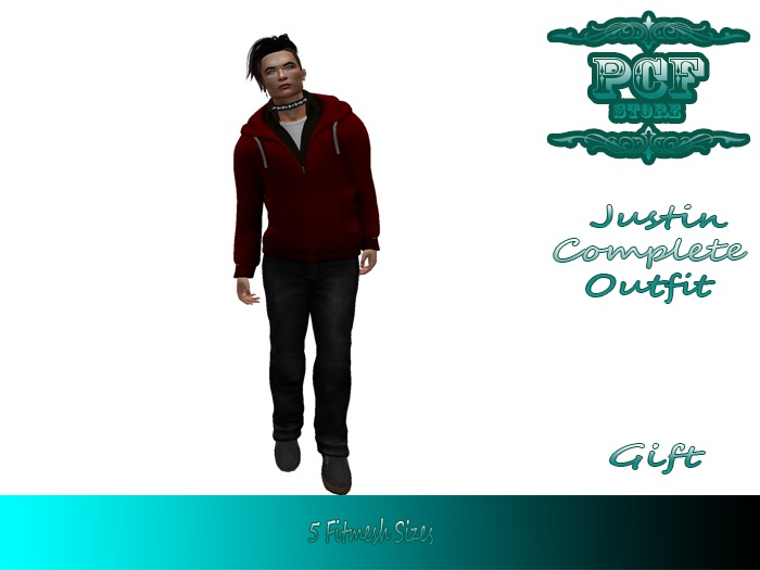 ::PCF:: Justin Complete Outfit Gift