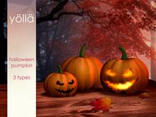 YOLLA halloween pumpkin