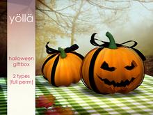 Halloween pumpkin giftbox