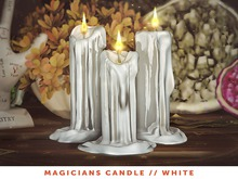 [The Emporium] Magicians Candle // White