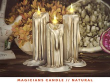 [The Emporium] Magicians Candle // Natural
