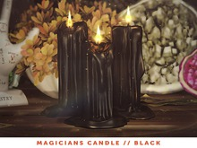 [The Emporium] Magicians Candle // Black