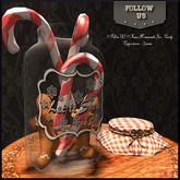 Special Christmas price !! Follow US !! Xmas homemade jar (candy) COPY version