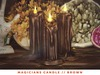 [The Emporium] Magicians Candle // Brown