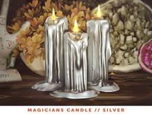 [The Emporium] Magicians Candle // Silver