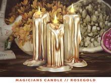 [The Emporium] Magicians Candle // Rosegold