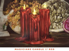 [The Emporium] Magicians Candle // Red