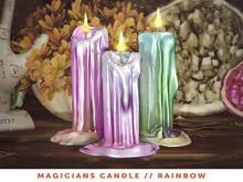 [The Emporium] Magicians Candle // Rainbow