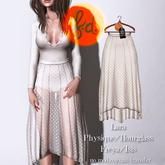 (fd) Polkadot Lace Skirt - Cream Maitreya Lara/Slink Physique+Hourglass/Belleza Freya+Isis (MESH)