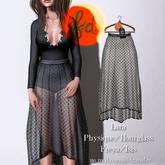 (fd) Polkadot Lace Skirt - Black Maitreya Lara/Slink Physique+Hourglass/Belleza Freya+Isis (MESH)