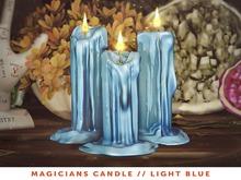[The Emporium] Magicians Candle // LightBlue