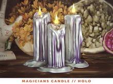 [The Emporium] Magicians Candle // Holo