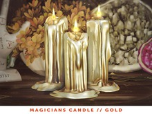[The Emporium] Magicians Candle // Gold