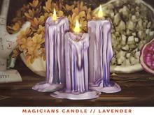 [The Emporium] Magicians Candle // Lavender