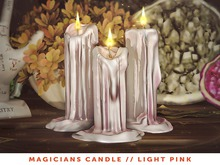 [The Emporium] Magicians Candle // LightPink
