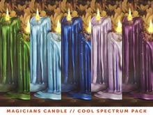 [The Emporium] Magicians Candle // Cool Spectrum Pk