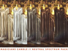 [The Emporium] Magicians Candle // Neutral Spectrum