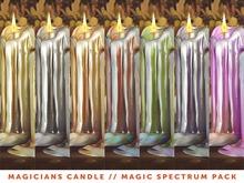 [The Emporium] Magicians Candle // Magic Spectrum Pk