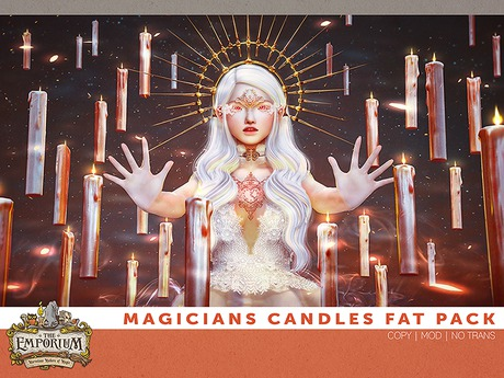 [The Emporium] Magicians Candle // Fat Pack
