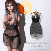 (fd) Vintage Lace Teddy - Black Maitreya Lara/Slink Physique+Hourglass/Belleza Freya+Isis (MESH)
