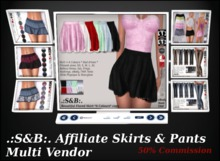 .:S&B:. Affiliate Multi Vendor Skirts & Pants