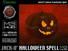 Jack-O' Lantern Magic Transform Spell [M3-HUD+Installer]