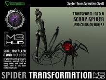 Spider Transformation Spell HUD (boxed)
