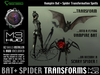 Spider & Bat Transformation Spell [M3-HUD+Installer]