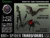 Spider & Bat Transformation Spell HUD (boxed)