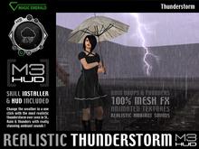 Thunderstorm - Ultra realistic [M3-HUD+Installer]