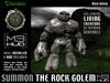 The Rock Golem - Living & Rideable Creature [M3-HUD+Installer]