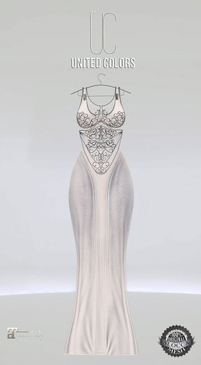 UC Ivyana gown white Maitreya