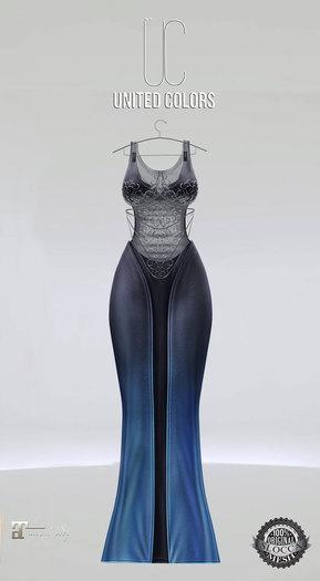 UC Ivyana gown navy Maitreya