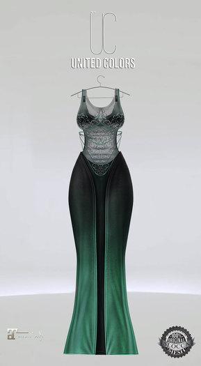 UC Ivyana gown emerald Maitreya