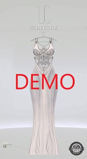 UC Ivyana gown demo Maitreya
