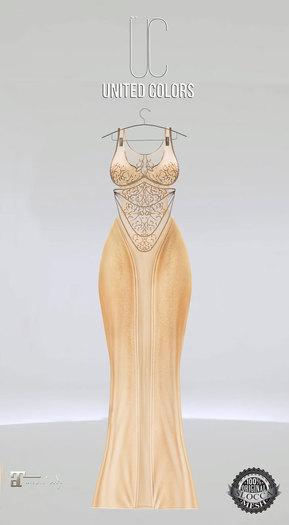 UC Ivyana gown cream Maitreya