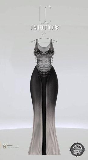 UC Ivyana gown black Maitreya