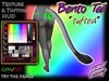 """Catseye """"Bento Tail"""" *tufted*"""