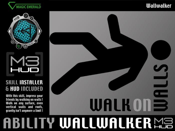 WallWalker - Walk on walls ! [M3-HUD+Installer]