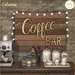 {what next} Colonna Coffee Bar Signs