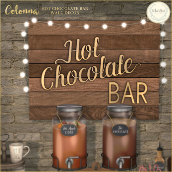 What Next Colonna Hot Chocolate Bar